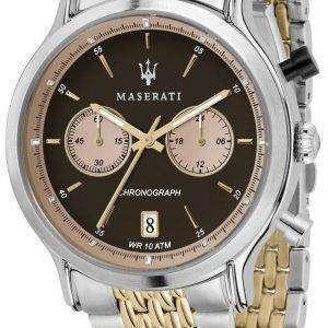 Leyenda de Maserati R8873638003 cronógrafo de cuarzo Relojes de hombre