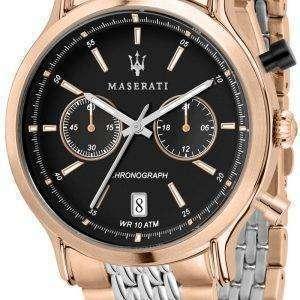 Leyenda de Maserati R8873638005 cronógrafo de cuarzo Relojes de hombre