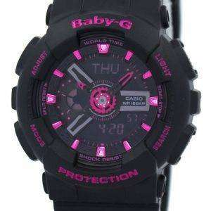Casio Baby-G hora mundial analógica-digital BA-111-1A BA111-1A reloj de mujer