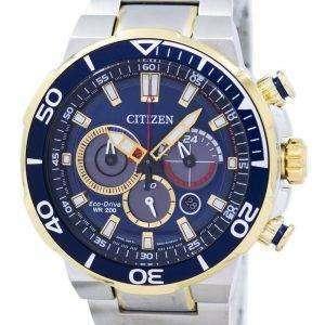 Ciudadano Eco-Drive Cronógrafo Analog 200M CA4254-53L reloj de caballero