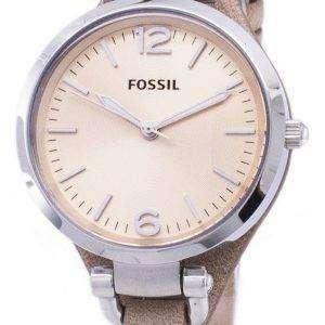 Fossil Georgia arena leather ES2830 reloj de mujer