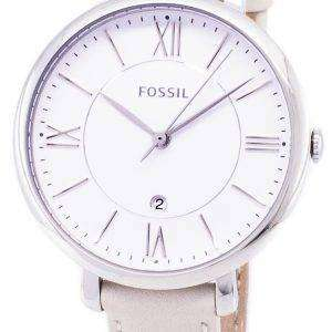 dee2f7df610b Fossil Jacqueline cuarzo blanco dial ES3793 reloj de mujer