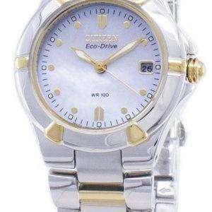 Ciudadano Riva Eco-Drive EW1534-57D reloj de mujer analógico