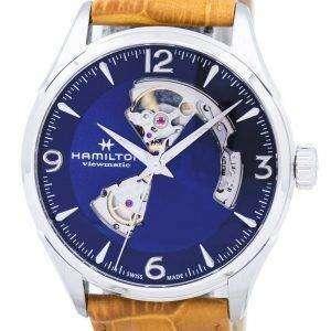 Hamilton Jazzmaster Viewmatic abierto corazón automático H32705541 reloj de caballero