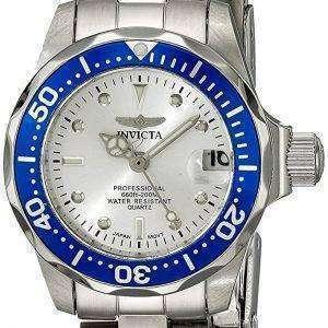 Invicta Pro Diver profesional cuarzo 200M 14125 reloj de mujer