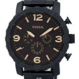 Fossil Nate Chronograph Brown dial JR1356 reloj de caballero