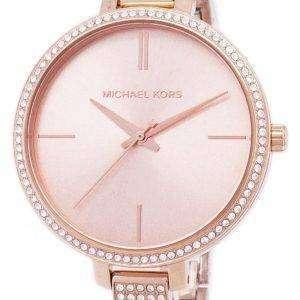 Michael Kors Jaryn cuarzo diamantes Acentos MK3785 reloj de mujer