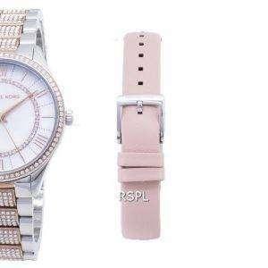 Michael Kors Lauryn MK4366 Diamond Acentos cuarzo reloj de mujer