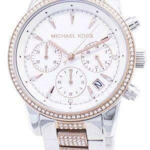 Michael Kors Ritz MK6651 Cronógrafo Diamond Acentos mujer reloj