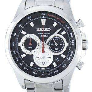 Seiko cronógrafo cuarzo taquímetro SSB241 SSB241P1 SSB241P reloj de caballero