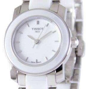 Tissot T-Lady cera Quartz T 064.210.22.011.00 T0642102201100 reloj de mujer