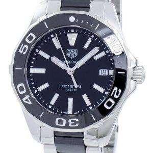 Tag Heuer Aquaracer Quartz WAY131A. BA0913 reloj de mujer