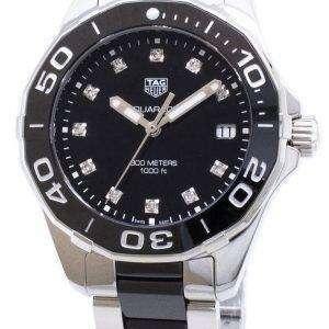Tag Heuer Aquaracer WAY131C. BA0913 cuarzo analógico 300M reloj de la mujer