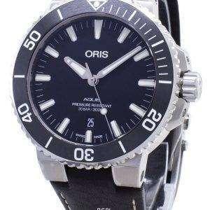 Oris Aquis Date 01 733 7730 4124-07 5 24 10EB 01-733-7730-4124-07-5-24-10EB Reloj automático para hombre de 300 m.