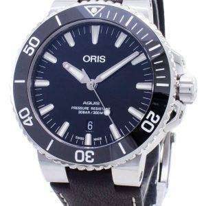 Oris Aquis Date 01 733 7730 4134-07 5 24 10EB 01-733-7730-4134-07-5-24-10EB Reloj automático para hombre de 300 m.