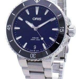 Oris Aquis Date 01 733 7731 4135-07 8 18 05P 01-733-7731-4135-07-8-18-05P Reloj automático para hombre de 300 m.