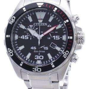 Citizen Eco-Drive AT2430-80E cronógrafo reloj analógico para hombres