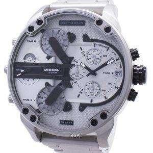 Diesel Mr. Daddy 2.0 Sólo el reloj análogo de cronógrafo valiente DZ7421 para hombres