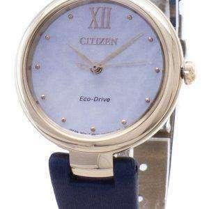 Citizen Eco-Drive EM0533-15D reloj analógico para mujer