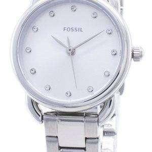 Fossil Tailor Mini ES4496 Diamond Accent reloj analógico para mujer