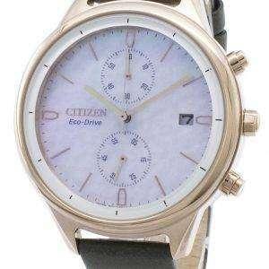 Reloj cronógrafo para mujer Citizen Chandler FB2008-01D