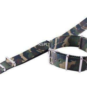 Army Nato Strap 22mm para SKX007, SKX009, SKX011, SRP497, SRP641