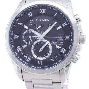 Citizen Eco-Drive AT9081-89E reloj para hombre con control de radio