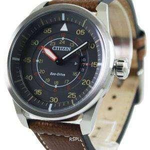 Citizen Eco-Drive aviador poder reserva AW1360 - 12H reloj masculino