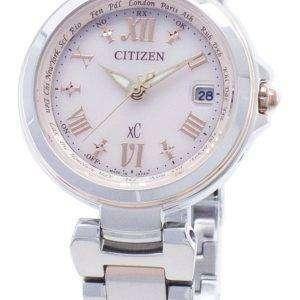 Citizen xC Eco-Drive EC1034-59W Reloj para mujer con control de radio