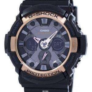 Casio G-Shock G de oro rosa acentuado GA-200RG-1A reloj masculino
