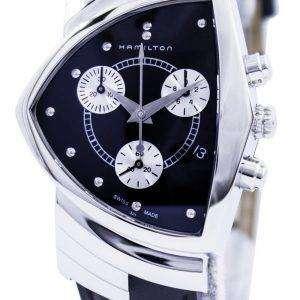 Hamilton Ventura cronógrafo cuarzo H24412732 reloj para hombre