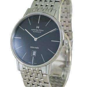 Hamilton Intra-Matic Automatic H38755131 reloj para hombre