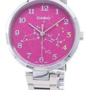Casio cuarzo LTP-E01D-4A LTPE01D-4A reloj analógico para mujer