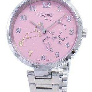 Reloj análogo Casio de cuarzo LTP-E02D-4A LTPE02D-4A para mujer