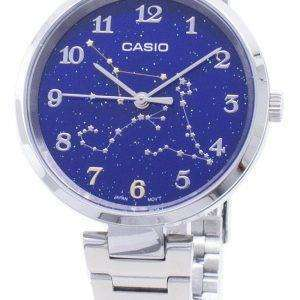 Casio cuarzo LTP-E04D-2A LTPE04D-2A reloj analógico para mujer