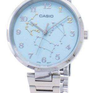 Casio cuarzo LTP-E08D-3A LTPE08D-3A reloj analógico para mujer