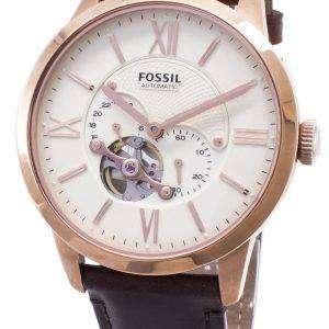 Fossil Townsman automático Skeleton ME3105 reloj de caballero
