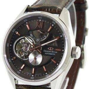 Oriente estrellas Semi automática esqueleto Power reserva SDK05004K DK05004K reloj de hombres
