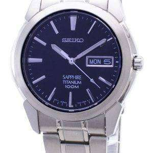 reloj Seiko titanio zafiro SGG729P1 SGG729 SGG729P hombres
