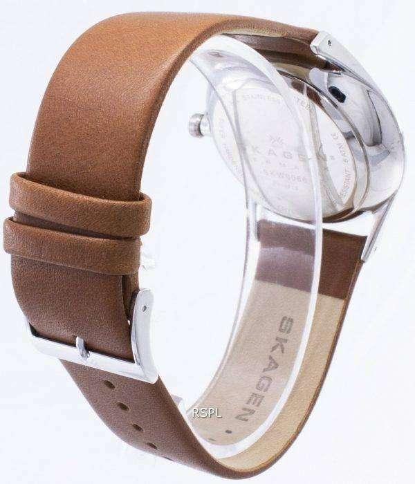 Skagen Holst multifunción acero inoxidable cuarzo SKW6086 reloj de caballero