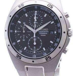 Reloj Seiko Titanium Chronograph SND419P1 SND419P SND419 varonil