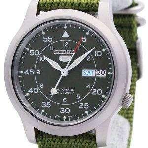 Reloj Seiko 5 Nylon automático militar SNK805K2 SNK805