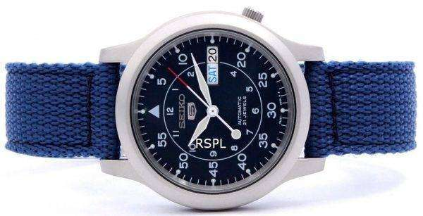 Reloj Seiko 5 Nylon automático militar SNK807K2 SNK807