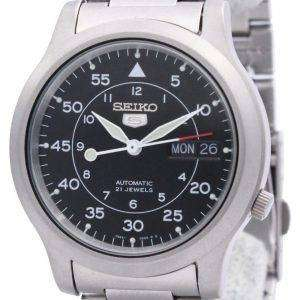 Reloj Seiko 5 automático SNK809K1 SNK809K SNK809 21 joya varonil