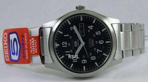 Seiko Automatic deportes reloj SNZG13J1 SNZG13J SNZG13 hombres