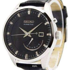 Reloj Seiko Kinetic correa SRN045P2 hombres de cuero