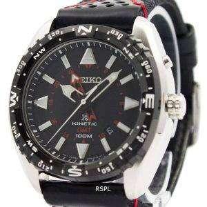 Reloj Seiko Prospex Kinetic GMT 100M Varonil de SUN049P2