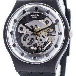 Reloj Swatch Originals Silver Glam Swiss Cuarzo SUOZ147 Unisex