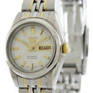 Reloj Seiko 5 Automatic 21 joyas SYMA35K1 SYMA35K SYMA35 de las mujeres