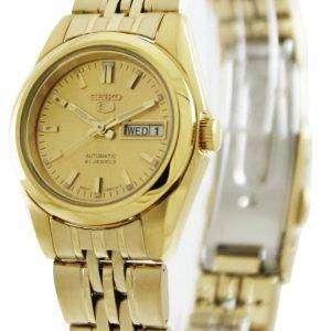 Reloj Seiko 5 Automatic 21 joyas SYMA38K1 SYMA38K SYMA38 de las mujeres